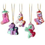 "1.75"" My Little Pony Ornaments - set of 5"