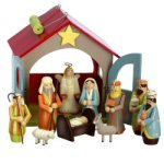 12-Piece Child's Nativity and Stable Set