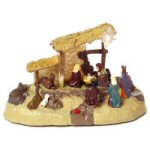 "11.25"" Musical Nativity Scene"