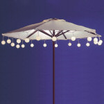 White Umbrella Light Set - String of 35