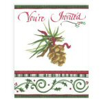 O'Tannenbaum Christmas Invitations - Pkg. of 8