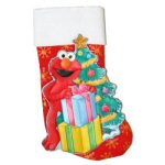 "19"" Sesame Street® Elmo Appliqué Stocking"