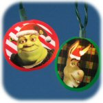 Shrek Printed Light Set - string of 10