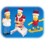 "4"" Simpsons Ornaments - set of 3"