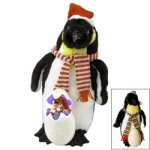 "14"" Animated Singing Penguin Family"
