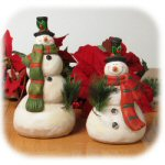 Tall and Short Snowmen - Set of 2