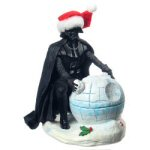 "7"" Darth Vader & Death Star Figurine"