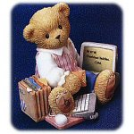 Cherished Teddies - Business Woman Bear