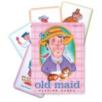 Old Maid Playing Cards