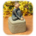 "3"" Willow Tree The Dancer Keepsake Box"
