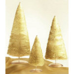 "11.5"" Medium Gold Sparkle Tree"