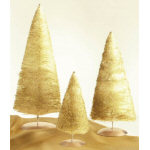 "15"" Large Gold Sparkle Tree"