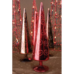 Red Cone Christmas Tree - 12""