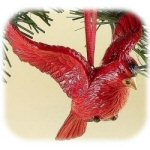 "3.5"" Holiday Traditions Scarlet Cardinal Ornament"