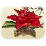 "1.75"" Holiday Traditions Poinsettia Ornament"