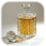 Medallion Crystal Decanter